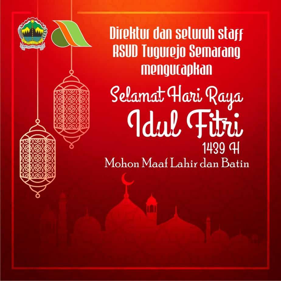 Selamat Hari Raya Idul Fitri 1439H. Mohon Maaf Lahir Dan